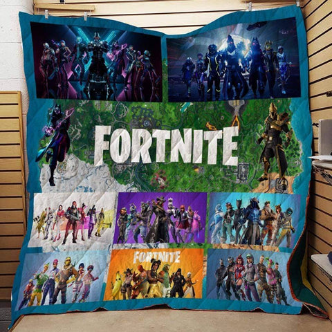 Image of F3 Quilt Blanket / US Twin Fortnite Custom Quilt Blankets
