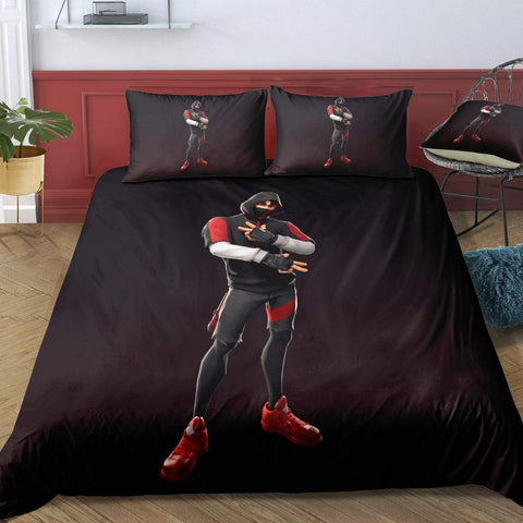 IKONIK / Twin 3 Piece Set The Original Fortnite Bedding Duvet Cover Sets