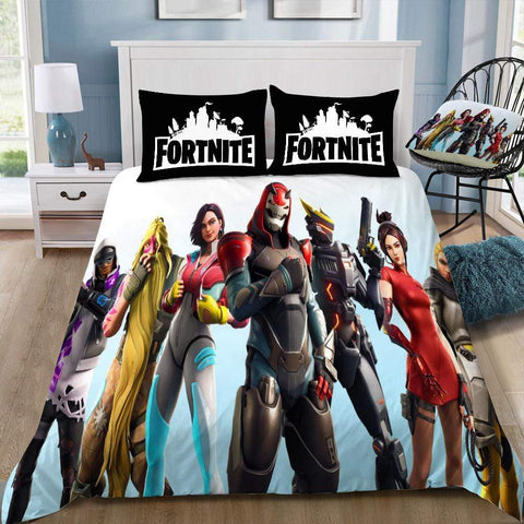 Season 9 Team 3 / Twin 3 Piece Set The Original Fortnite Bedding Duvet Cover Sets