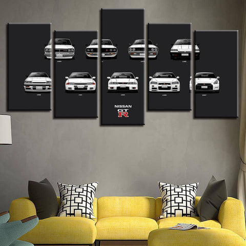 Style1 / Size1 / Unframed Evolution of the GT-R UNCUT