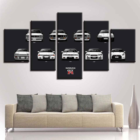 Style2 / Size1 / Unframed Evolution of the GT-R UNCUT