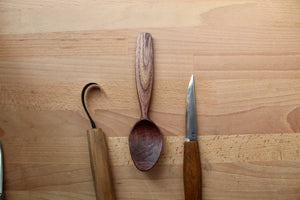 Walnut Eating Spoon