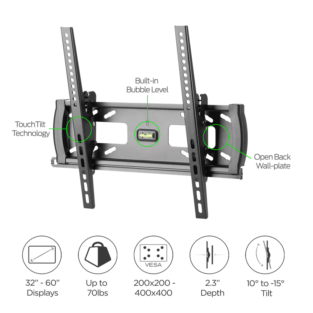 Medium Premium Tilt TV Wall Mount by Apex (AMT4401)