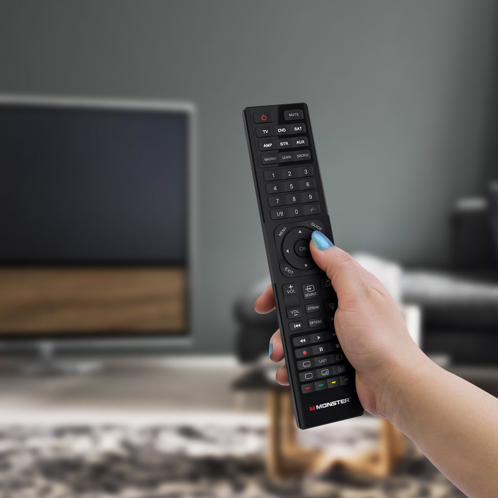 6-in-1 Universal Remote Control, Up to 6 Devices (MRC001U)