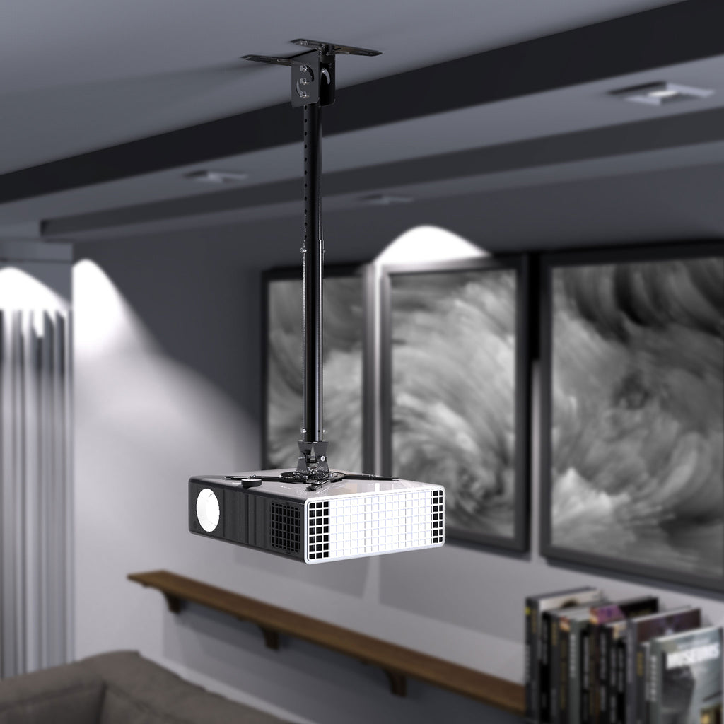 Universal Extended Overhead Ceiling Projector Mount, Supports up to 18lbs (UPR-PRO200)