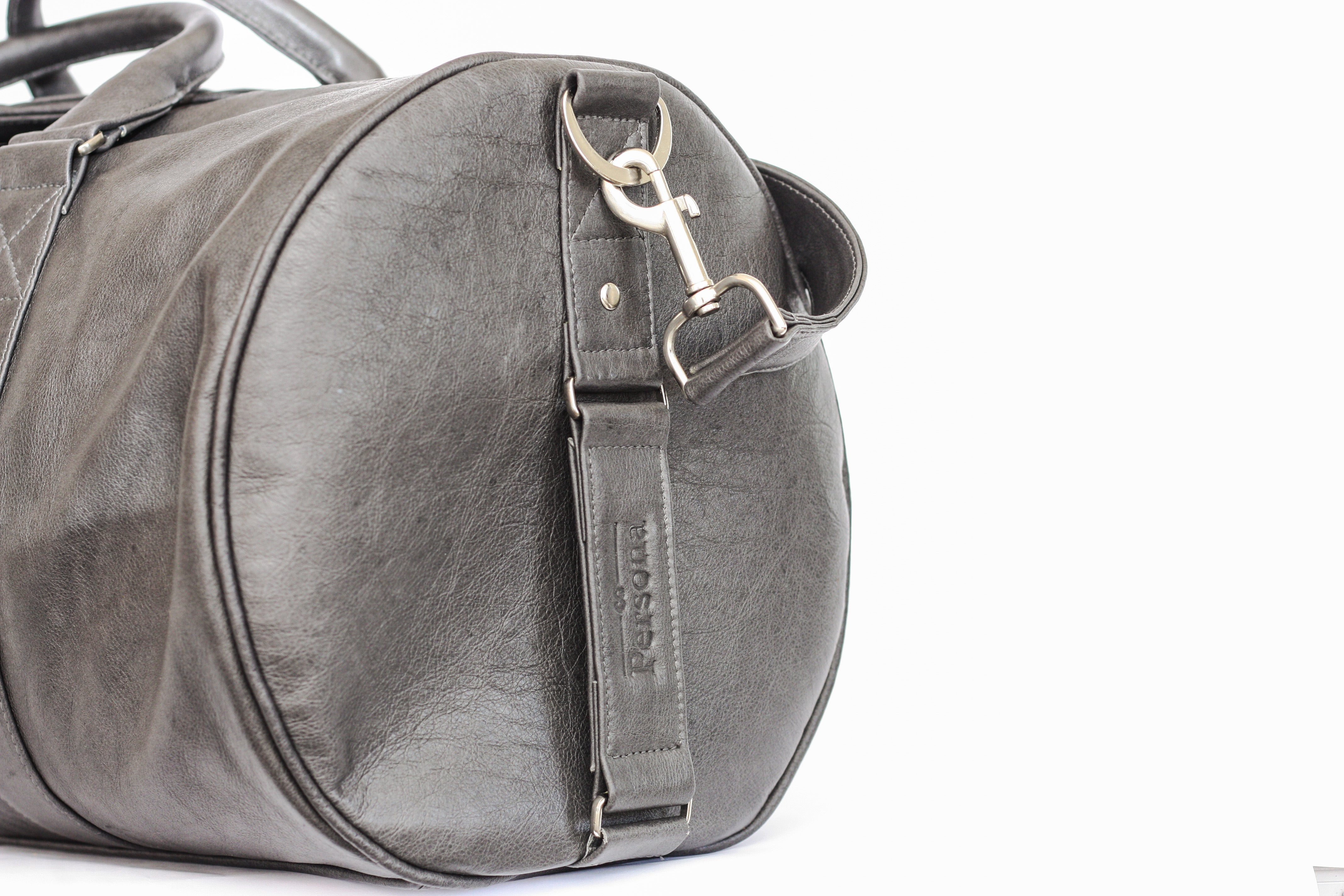 Duffel - Charcoal (angled - zoomed)