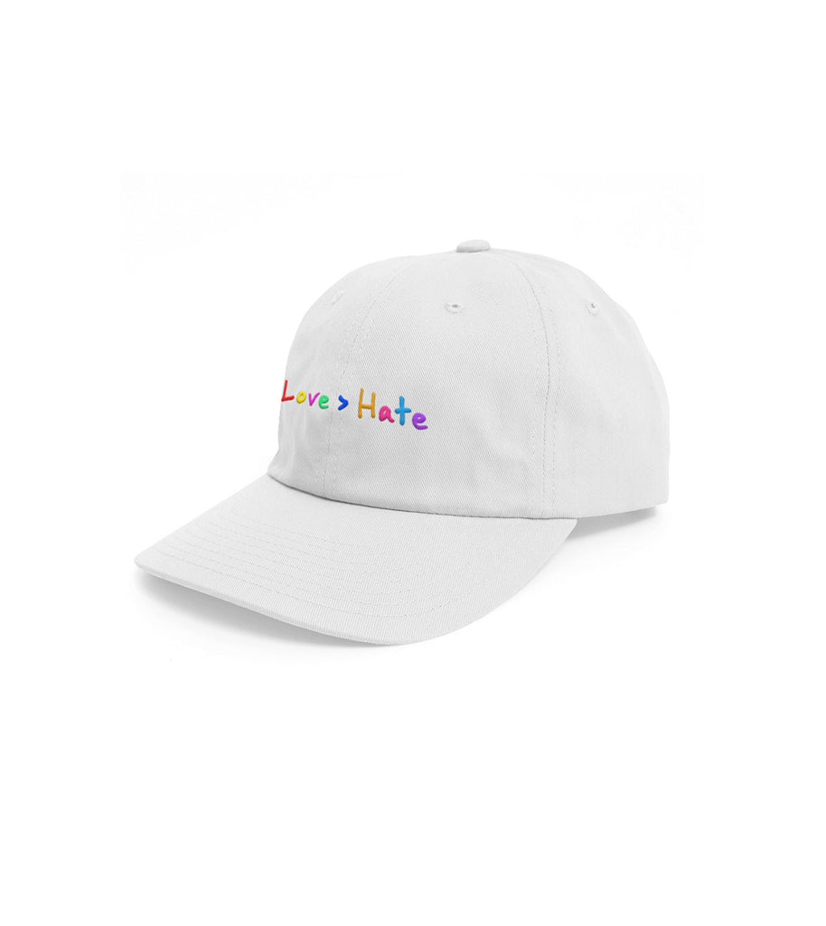 Love > Hate White Hat