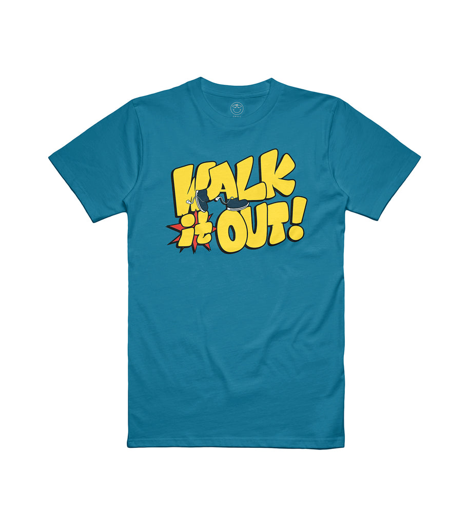 Walk It Out! Tee Blue