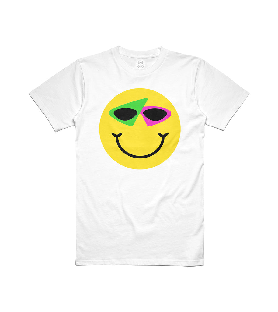 Smiley Tee White