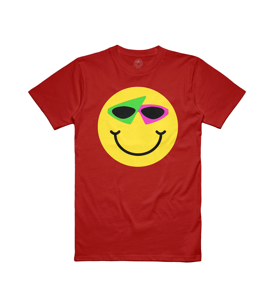 Smiley Tee Red