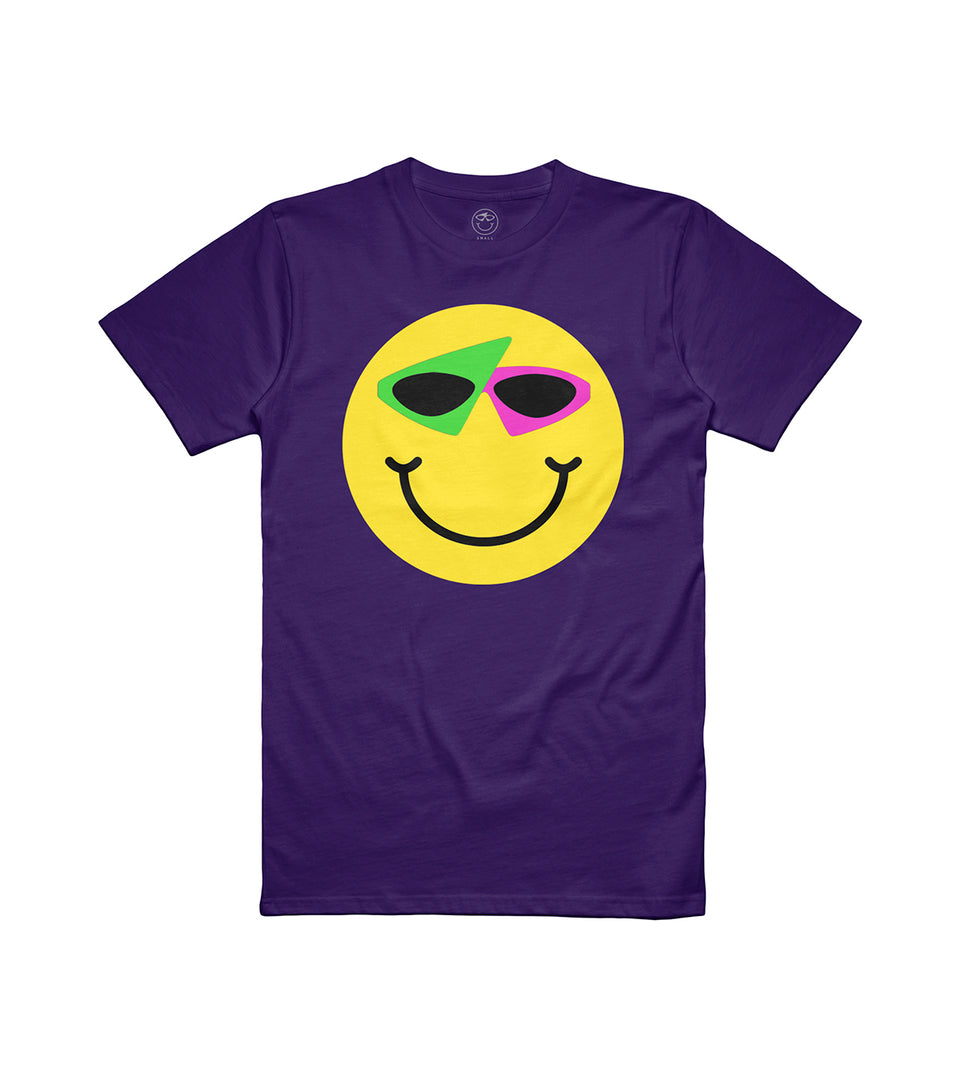 Smiley Tee Purple