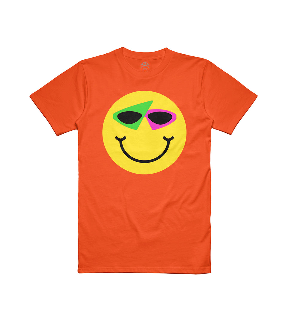 Smiley Tee Orange