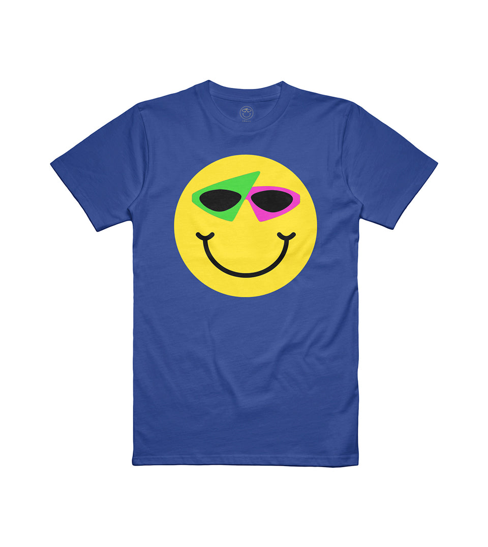 Smiley Tee Blue