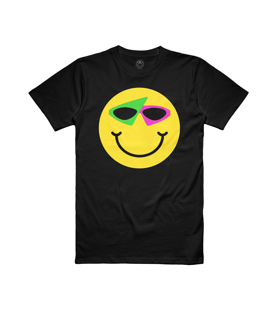 Smiley Tee Black