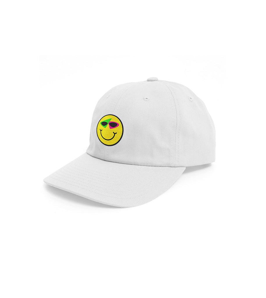 Smiley Hat White