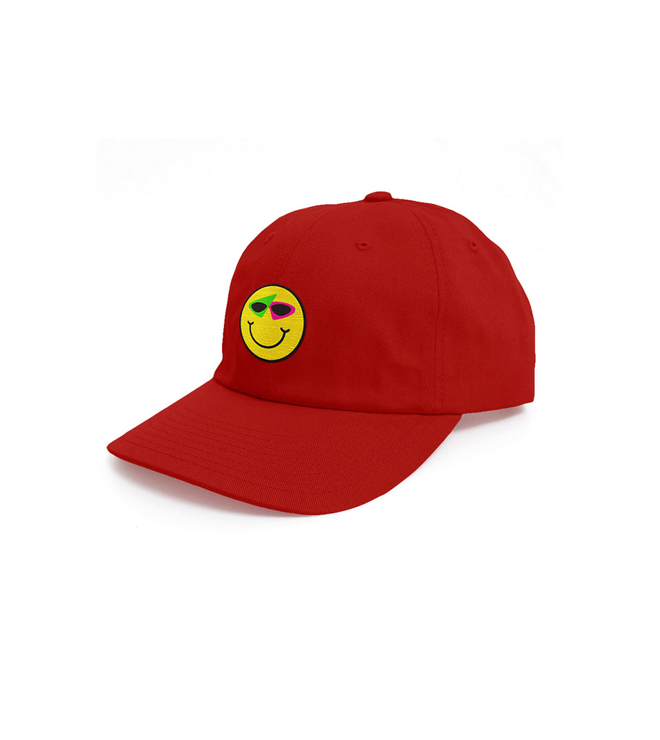 Smiley Hat Red