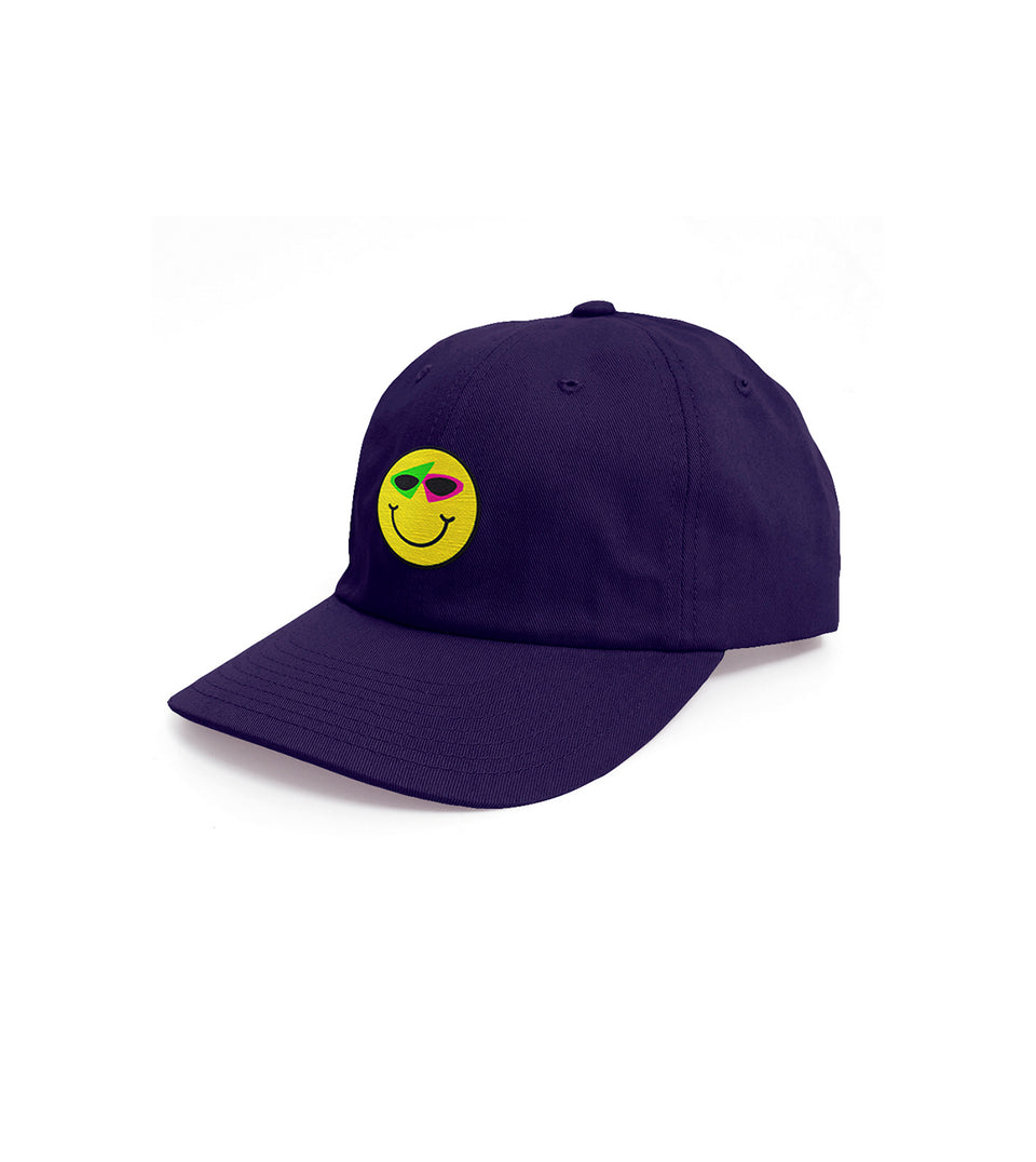 Smiley Hat Purple