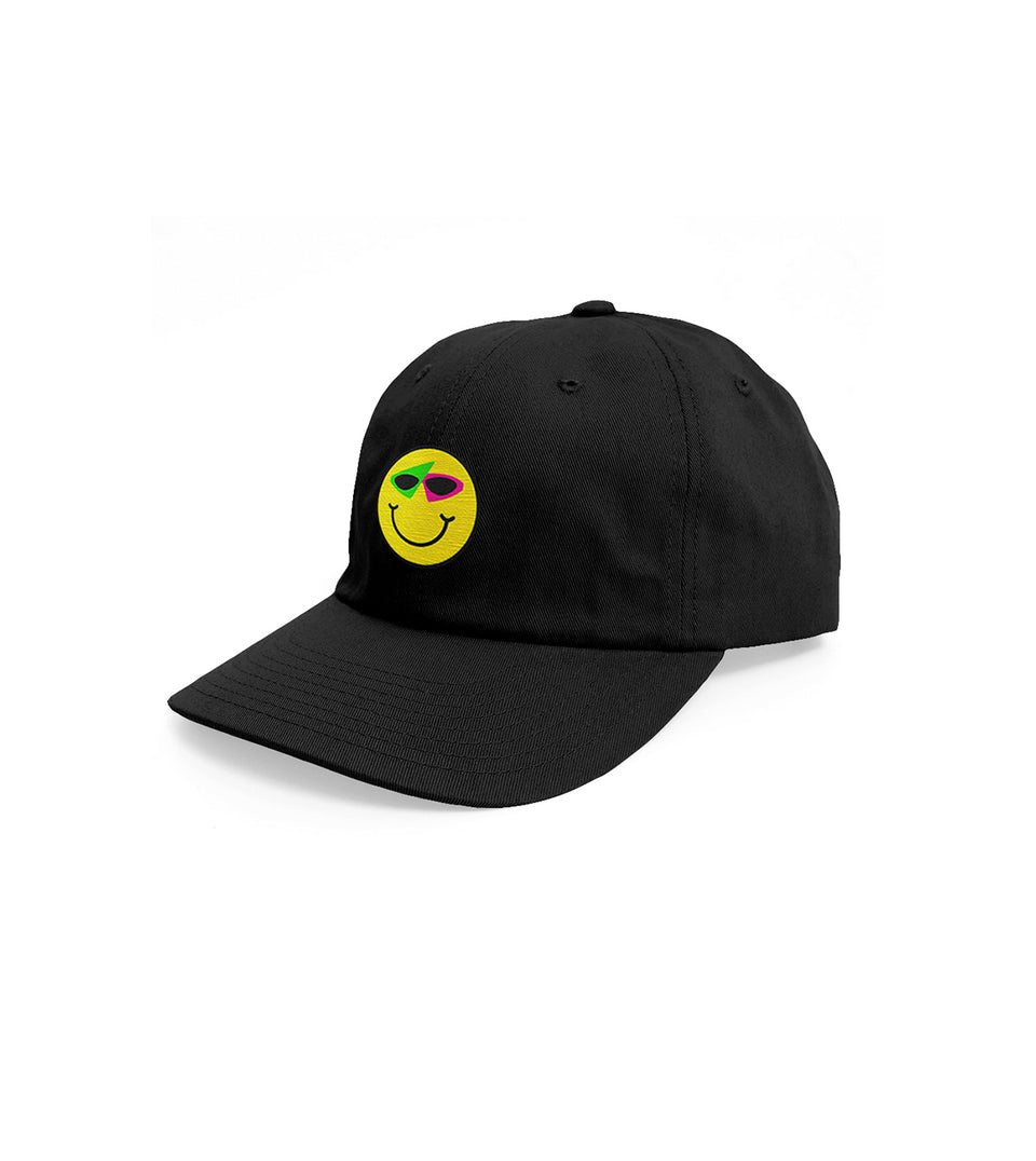 Smiley Hat Black