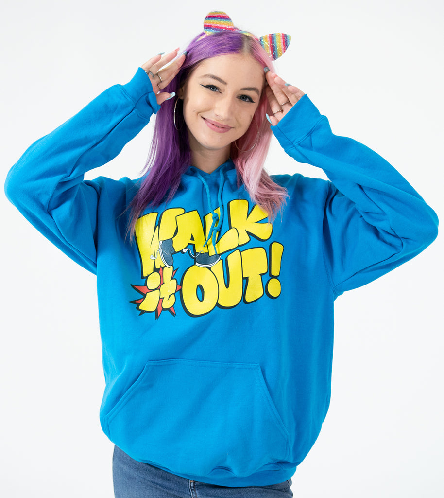 Walk It Out! Hoodie Blue