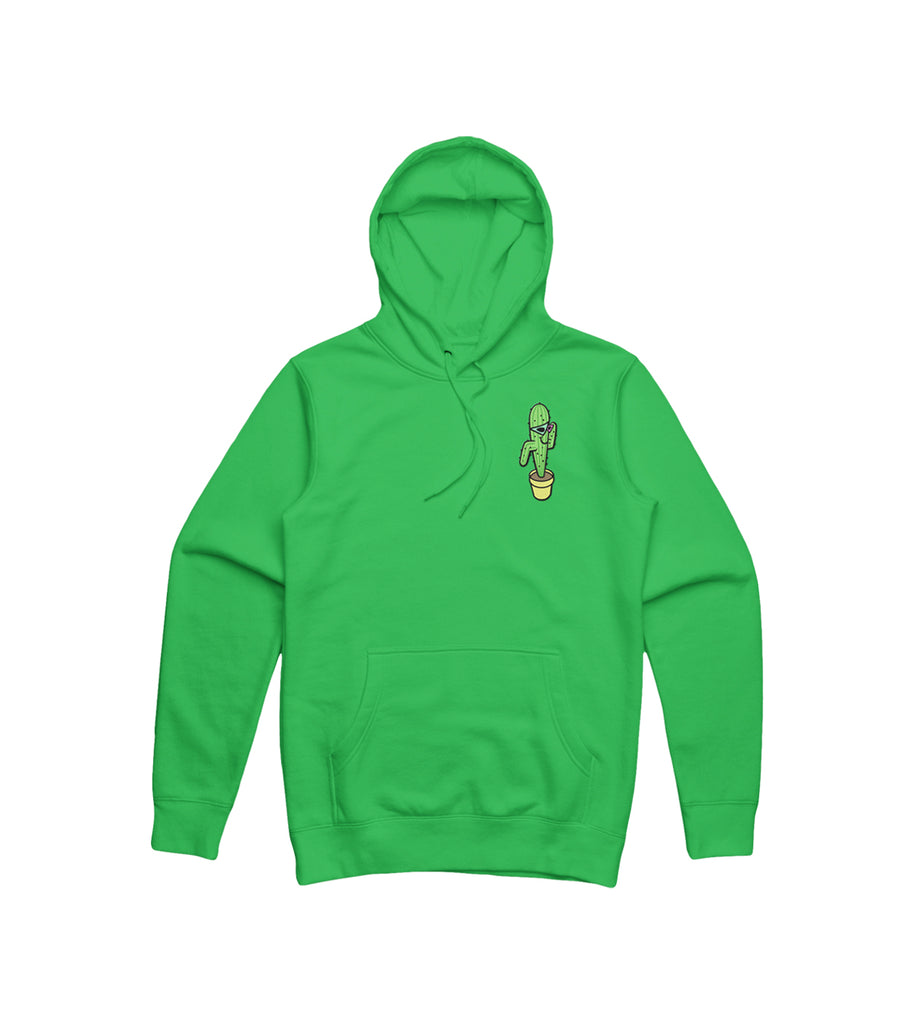 Purdy World Cactus Hoodie Embroidered