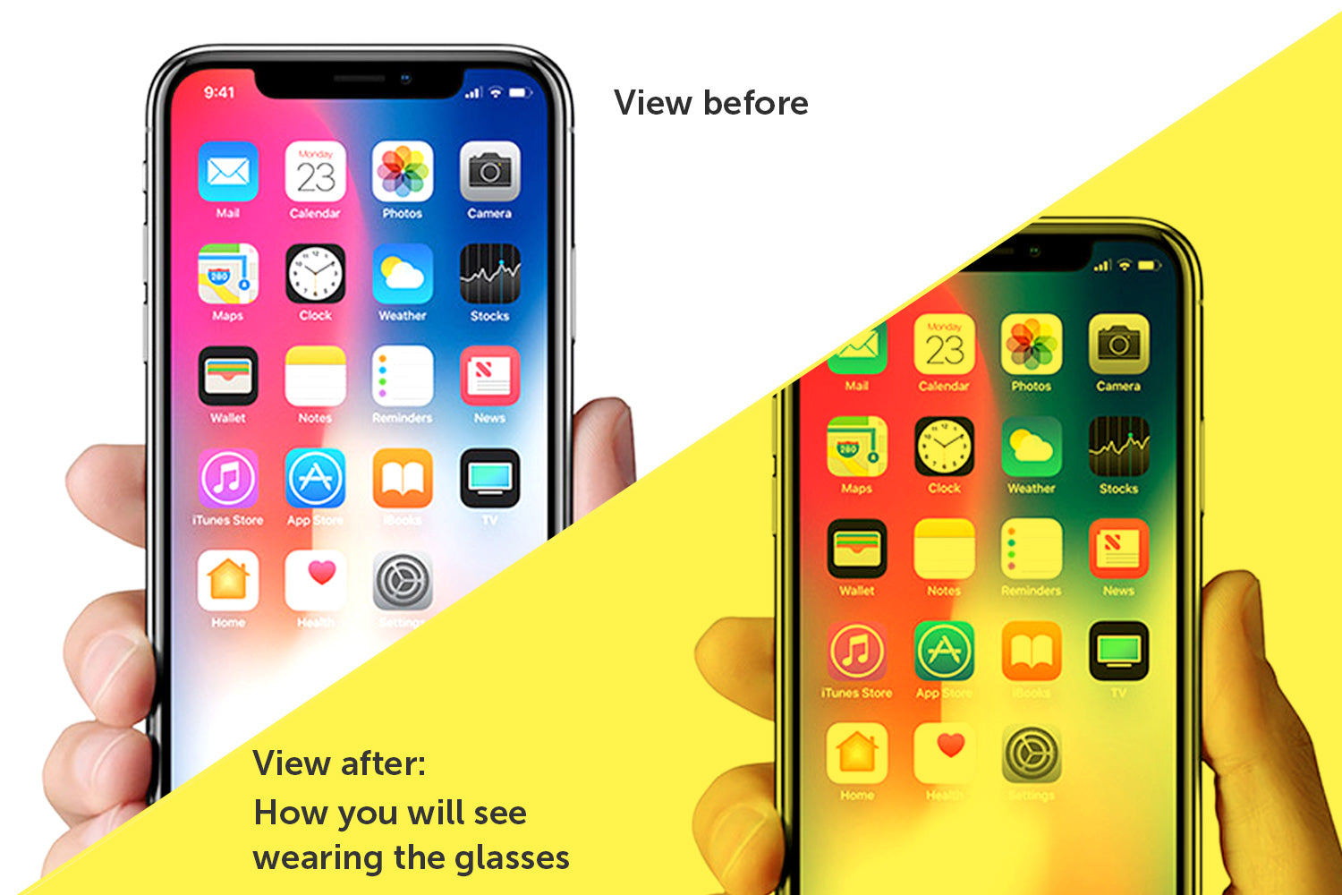 Screen Savior Fit-Over Yellow