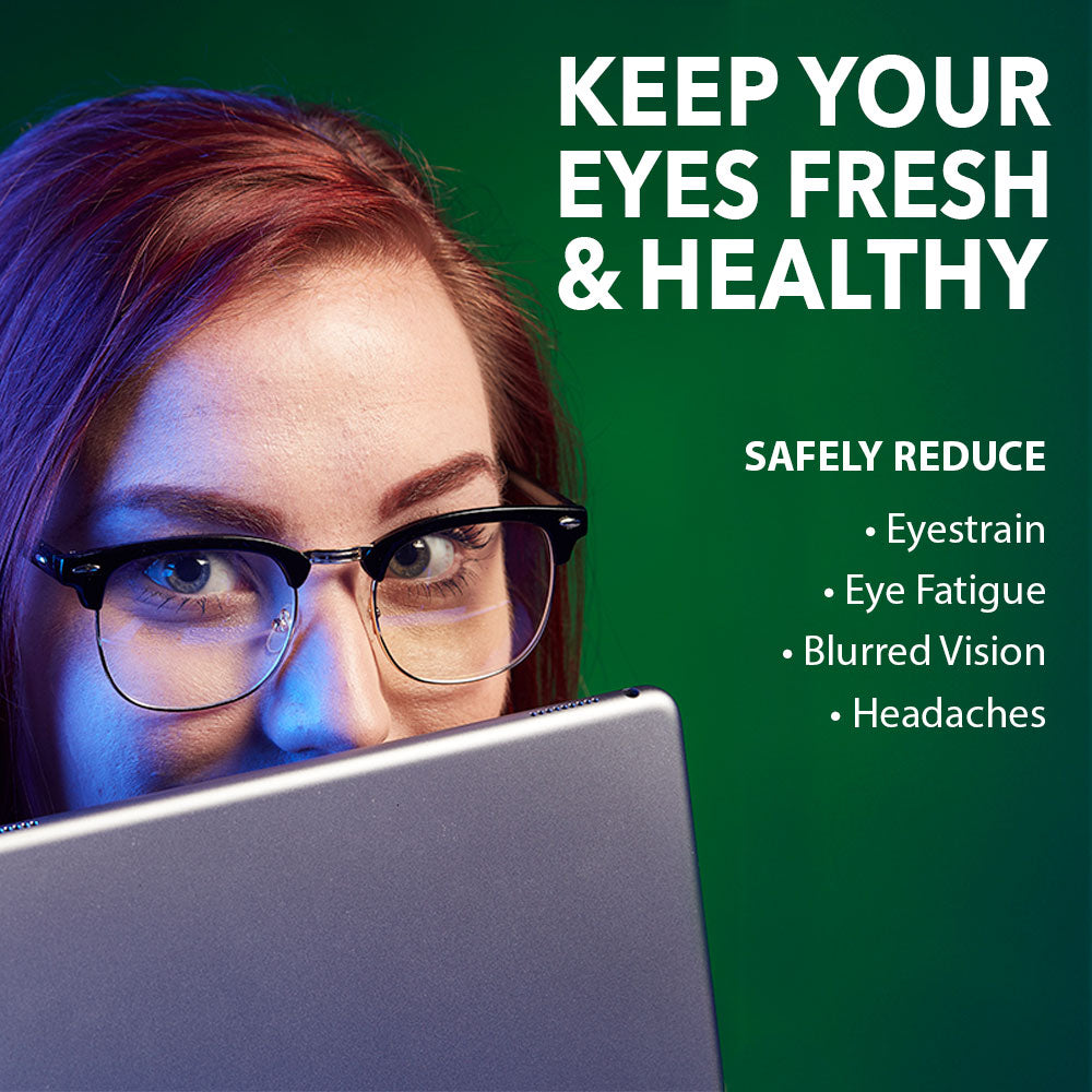 3G Blue Light Blocking Browline Computer Eyewear