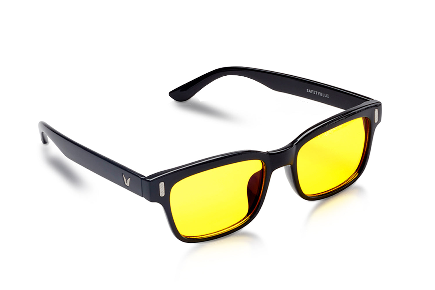SCREEN SAVIOR Retro Yellow Computer Glasses (Unisex)