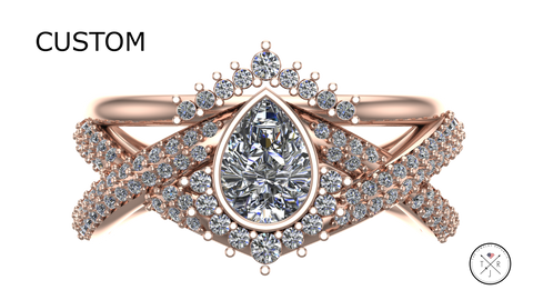 custom wedding ring with military discount