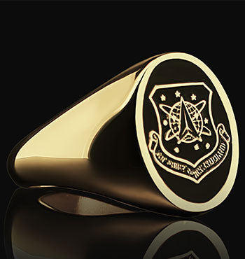 Air Force Space Command Signet Ring Personalized Ring