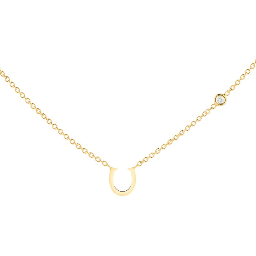 Lucky Horseshoe Necklace - The Jewelry Republic