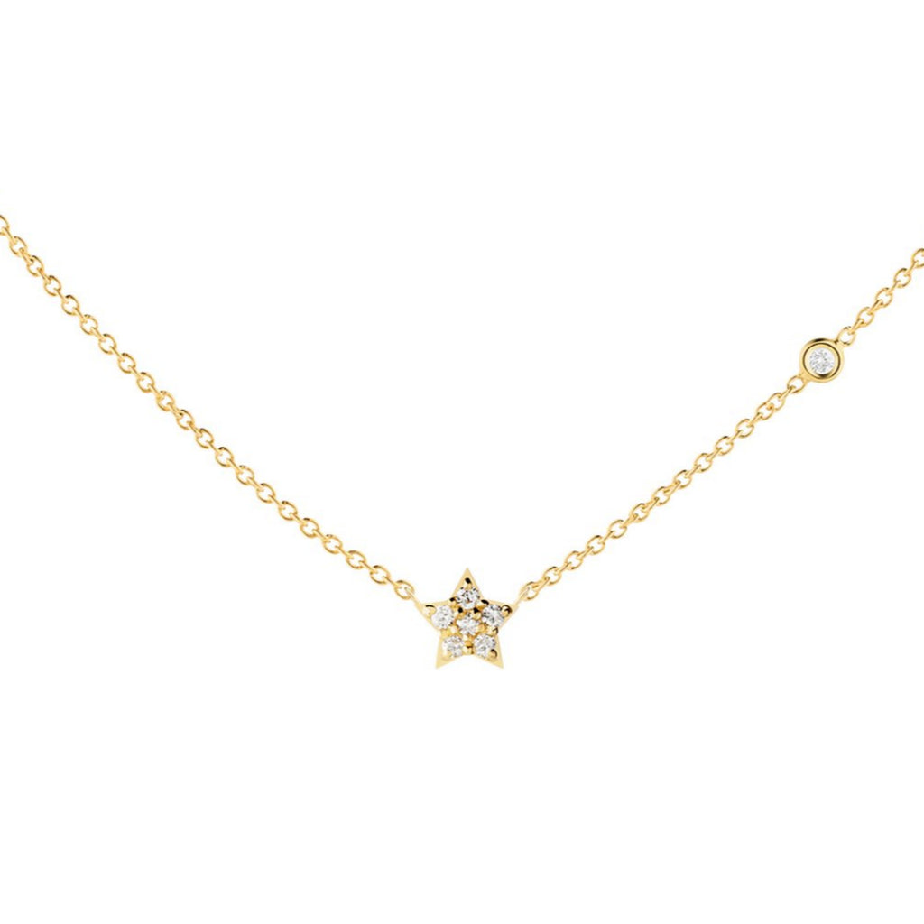 Diamond Star Necklace - The Jewelry Republic
