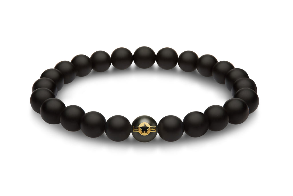 AIR FORCE Gold Bracelet - The Jewelry Republic