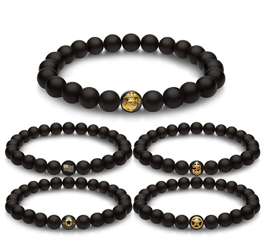 ARMY Gold Bracelet - The Jewelry Republic