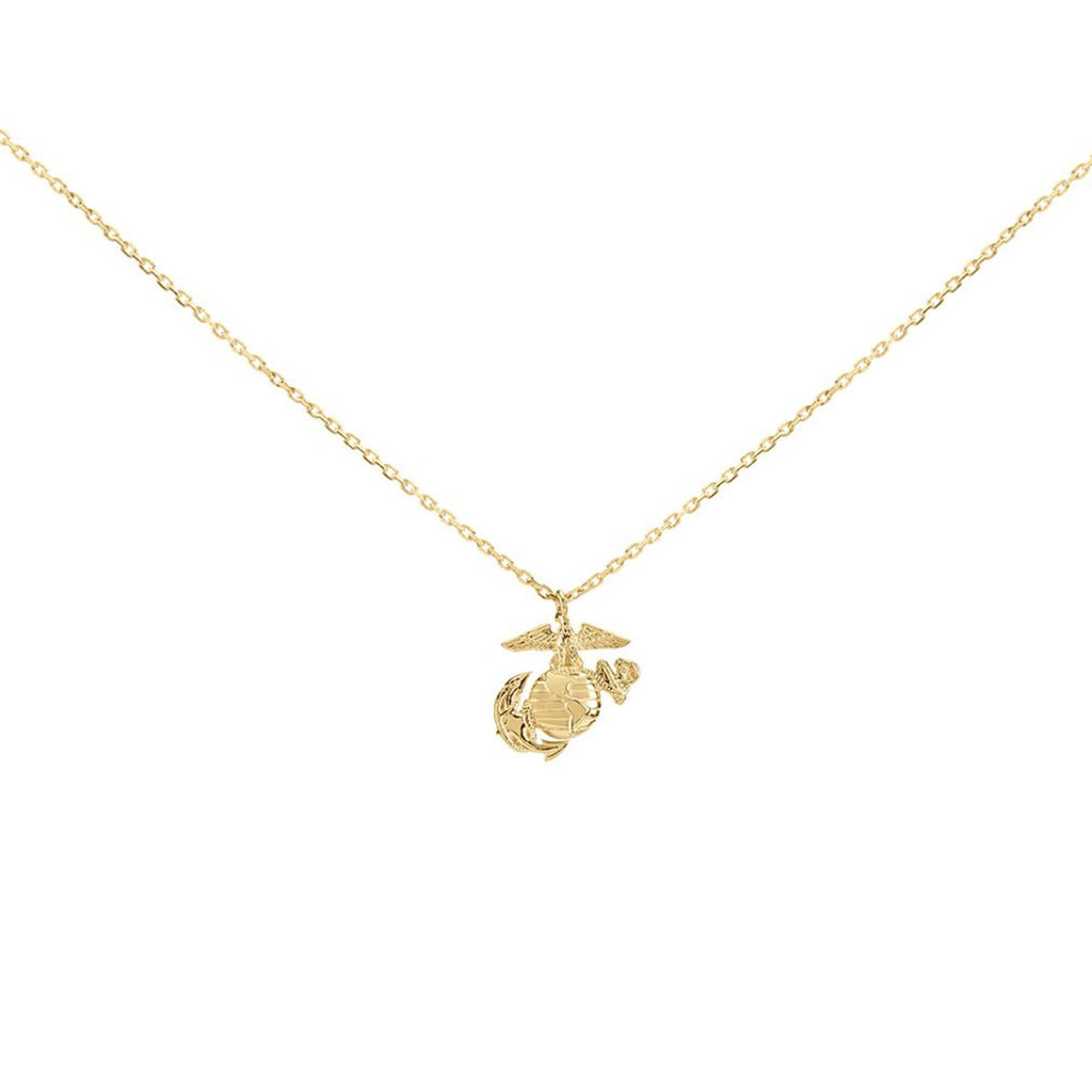 Eagle Globe & Anchor Necklace - The Jewelry Republic
