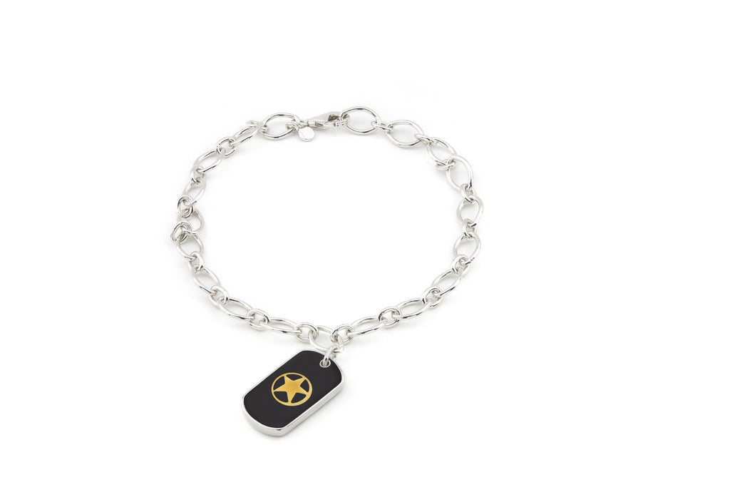ARMY Legacy Enamel Charm Bracelet - Rosie Network Exclusive - The Jewelry Republic