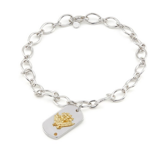 NAVY Legacy Sapphire Charm Bracelet - Rosie Network Exclusive - The Jewelry Republic