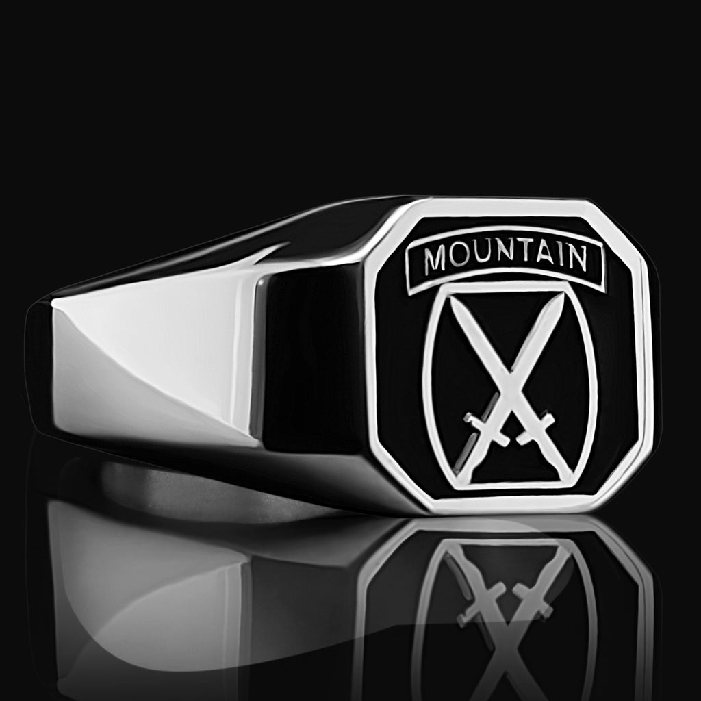 10th Mountain Div. Ring