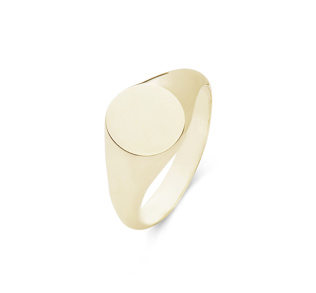 Women's Signet Oval Ring - The Jewelry Republic