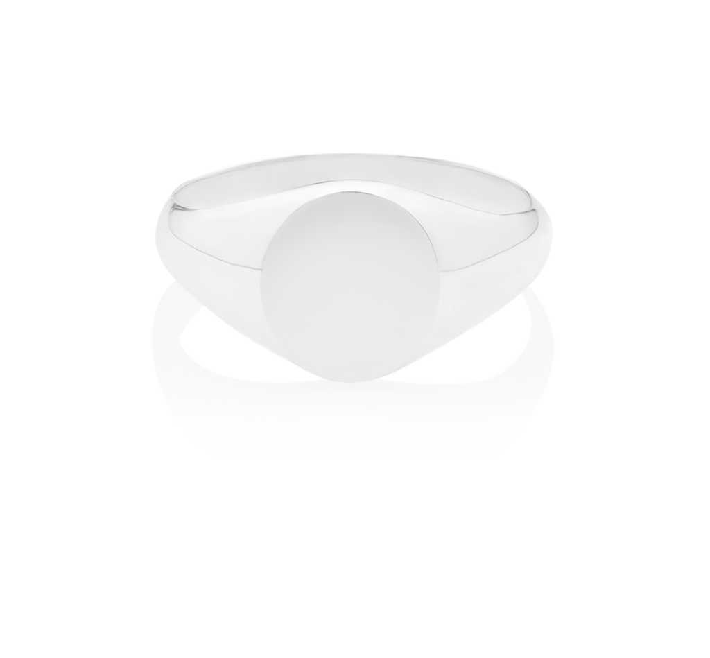 Men's Signet Oval Ring - The Jewelry Republic