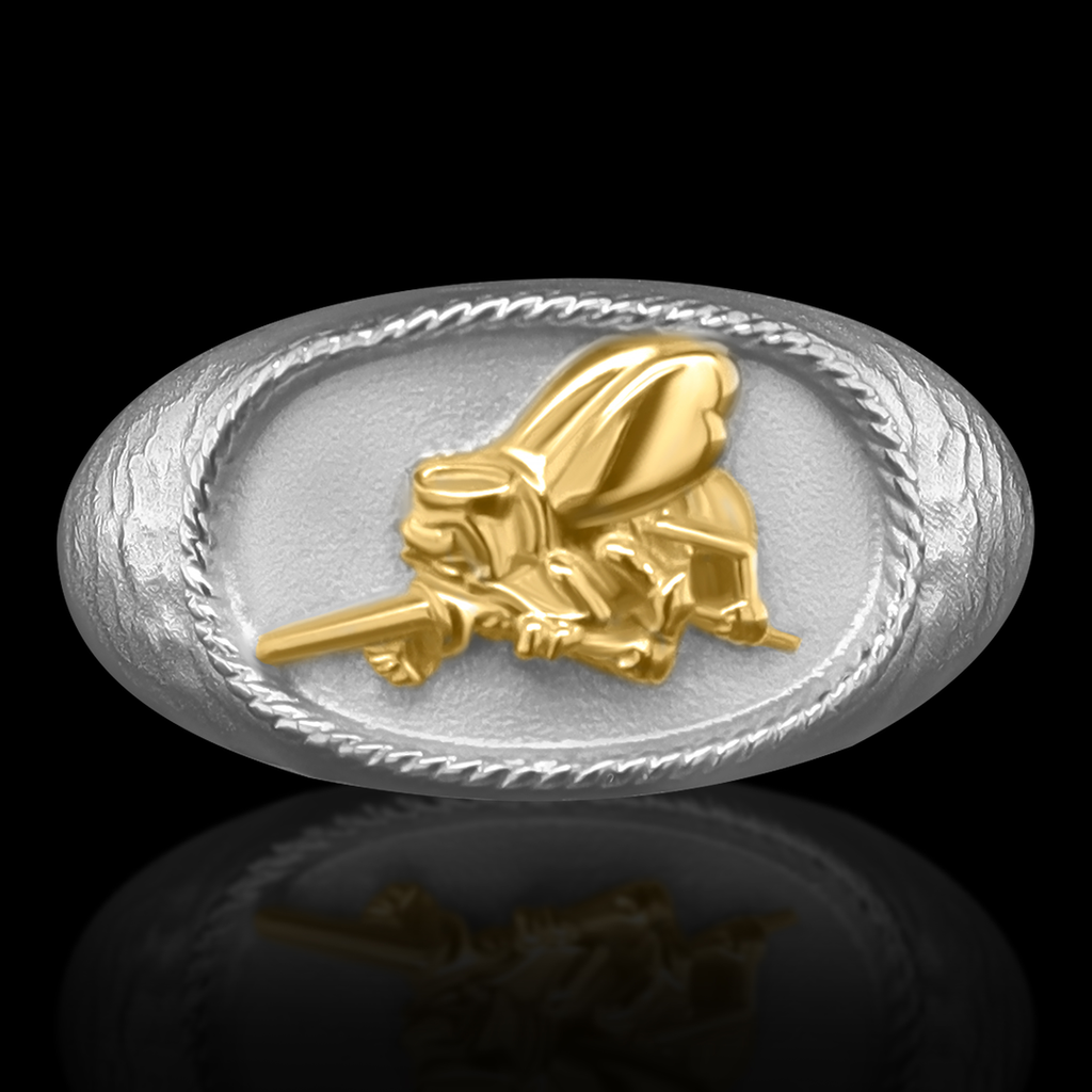 Navy SeaBee Ring