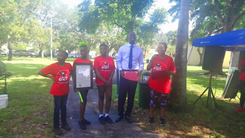 Nazhi Thee Baker Angel Foundation  1st Healthy Heart Walk for  Sickle Cell