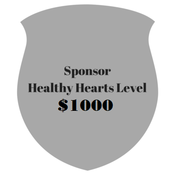 Sponsor - Healthy Hearts Level - $1000