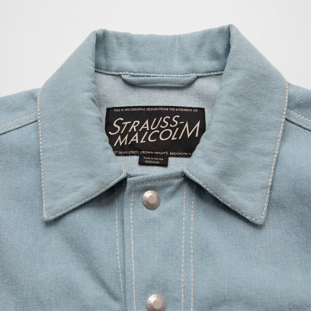 Blue Block Cruiser - Strauss-Malcolm Unisex Made in the USA Limited Edition brand, Outerwear - Designer clothes and accessories, Strauss-Malcolm - Strauss-Malcolm