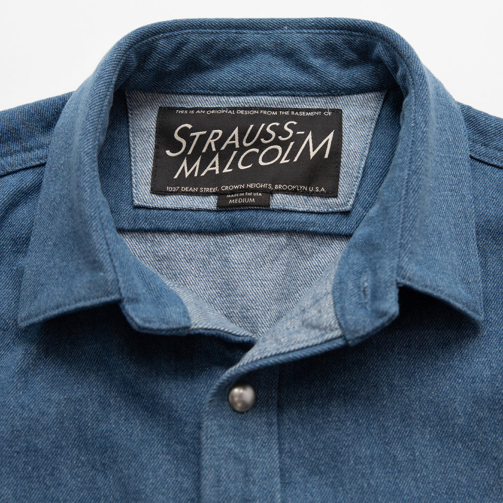 Moms Snap Work Shirt - Strauss-Malcolm Unisex Made in the USA Limited Edition brand, Wovens - Designer clothes and accessories, Strauss-Malcolm - Strauss-Malcolm