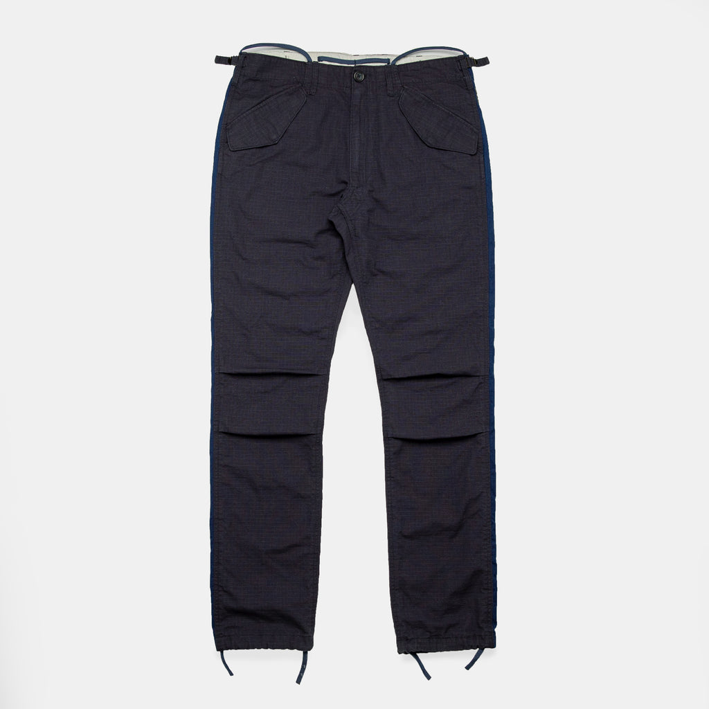 Striped Fatigue Trousers - Strauss-Malcolm Unisex Made in the USA Limited Edition brand, Roughwear - Designer clothes and accessories, Strauss-Malcolm - Strauss-Malcolm