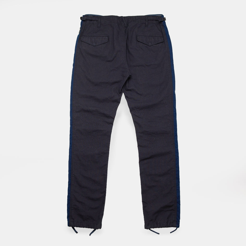 Striped Fatigue Trousers - Strauss-Malcolm