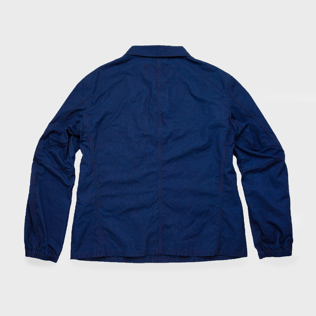 Japanese Indigo Workman Jacket - Strauss-Malcolm Unisex Made in the USA Limited Edition brand, Outerwear - Designer clothes and accessories, Strauss-Malcolm - Strauss-Malcolm