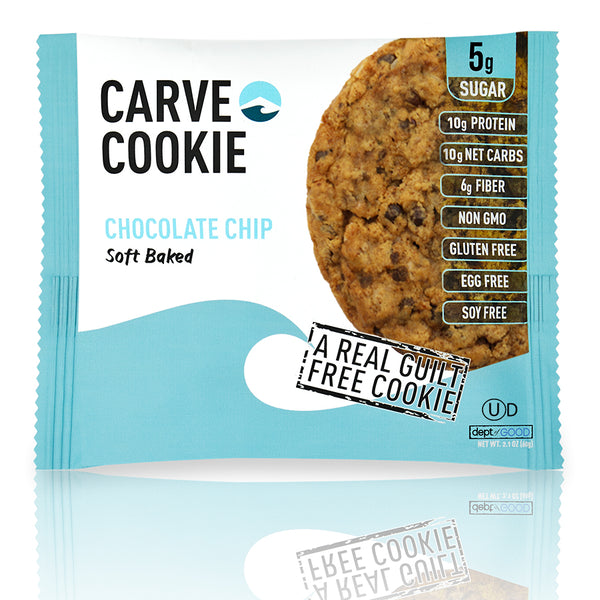 Carve Chocolate Chip Cookie (6 pack)
