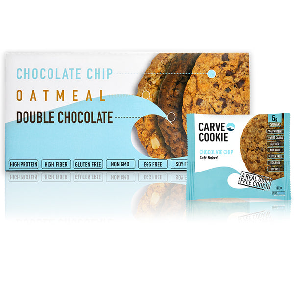Carve Chocolate Chip Cookie (12 Pack)