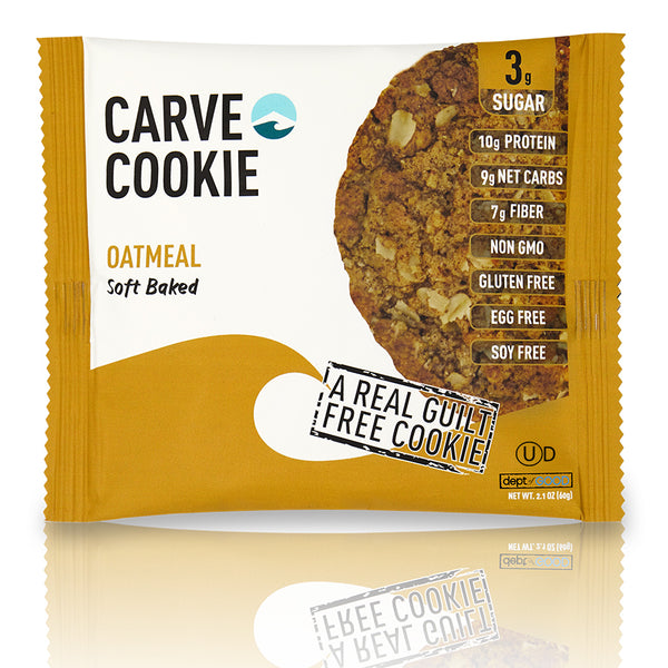 Carve Oatmeal Cookie (6 pack)